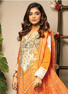 Change Embroidered Lawn Unstitched 2 Piece Suit CG20I CL-010 - Spring / Summer Collection