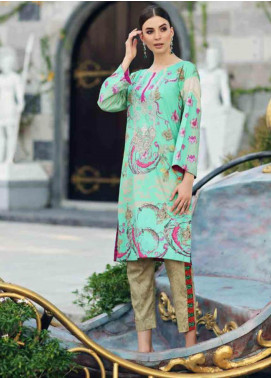 Charizma Embroidered Lawn Unstitched 2 Piece Suit CRZ19BE 05 - Mid Summer Collection