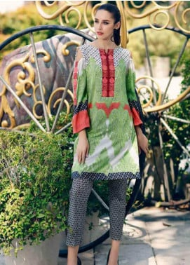 Charizma Embroidered Lawn Unstitched 2 Piece Suit CRZ19BE 09 - Mid Summer Collection