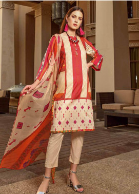 Charizma Printed Lawn Unstitched 3 Piece Suit CRZ20CP 04 Loving Touch - Spring / Summer Collection