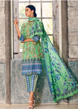 Combinations by Charizma Embroidered Lawn Unstitched 3 Piece Suit CRZ20CL-17 - Summer Collection