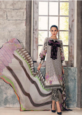 Combinations by Charizma Embroidered Lawn Unstitched 3 Piece Suit CRZ20CL-20 - Summer Collection