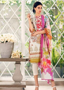 Combinations by Charizma Embroidered Lawn Unstitched 3 Piece Suit CRZ20CL-22 - Summer Collection