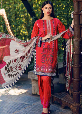 Charizma Embroidered Lawn Unstitched 3 Piece Suit CRZ20CM 36 - Spring / Summer Collection