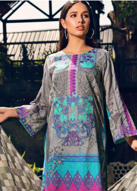 Charizma Embroidered Lawn Unstitched 3 Piece Suit CRZ20CM 37 - Spring / Summer Collection