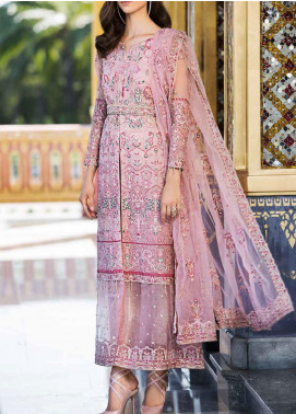 Diamond Dust by Charizma Embroidered Organza Unstitched 3 Piece Suit CRZ20DD 004 - Premium Collection