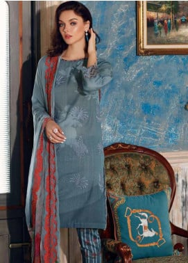 Charizma Embroidered Karandi Unstitched 3 Piece Suit CRZ20K 07 - Winter Collection