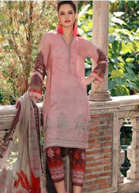 Charizma Embroidered Karandi Unstitched 3 Piece Suit CRZ20K 08 - Winter Collection