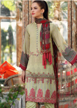Charizma Embroidered Karandi Unstitched 3 Piece Suit CRZ20K 09 - Winter Collection