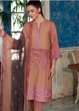 Charizma Embroidered Karandi Unstitched 3 Piece Suit CRZ20K 12 - Winter Collection