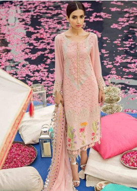 Charizma Embroidered Lawn Unstitched 3 Piece Suit CRZ19EF 36 FLORAL FIESTA - Festive Collection