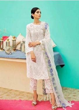 Charizma Embroidered Schiffli Unstitched 3 Piece Suit CRZ19EF 39 MOONLIGHT - Festive Collection