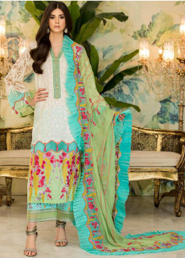 Charizma Embroidered Lawn Unstitched 3 Piece Suit CRZ20F CF-02 - Festive Collection