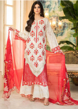 Charizma Embroidered Lawn Unstitched 3 Piece Suit CRZ20F CF-05-A - Festive Collection