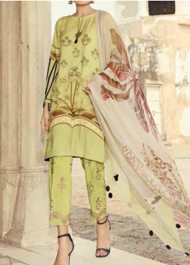 Charizma Embroidered Viscose Unstitched 3 Piece Suit CRZ20KL 6 - Winter Collection
