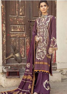 Masakali by Charizma Embroidered Missouri Unstitched 3 Piece Suit CRZ20MK 02 Plumburn - Winter Collection