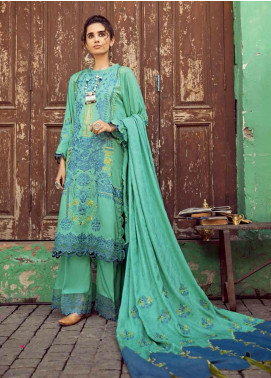 Masakali by Charizma Embroidered Missouri Unstitched 3 Piece Suit CRZ20MK 11 Watery Willow - Winter Collection