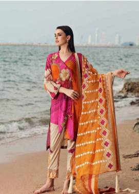 Charizma Naranji Embroidered Lawn Unstitched 3 Piece Suit CRZ19N 05 - Spring / Summer Collection