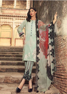 Charizma Embroidered Karandi Unstitched 3 Piece Suit CRZ19K 01 - Formal Collection