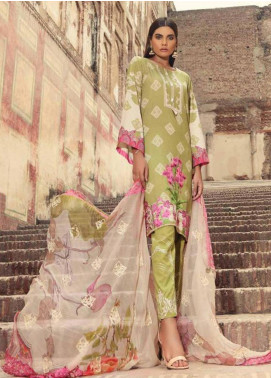 Charizma Embroidered Karandi Unstitched 3 Piece Suit CRZ19K 03 - Formal Collection