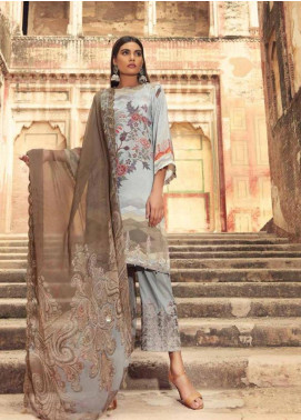 Charizma Embroidered Karandi Unstitched 3 Piece Suit CRZ19K 04 - Formal Collection