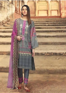 Charizma Embroidered Karandi Unstitched 3 Piece Suit CRZ19K 06 - Formal Collection