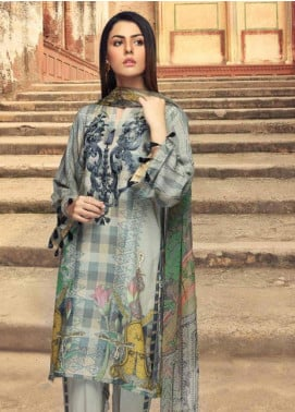 Charizma Embroidered Karandi Unstitched 3 Piece Suit CRZ19K 11 - Formal Collection