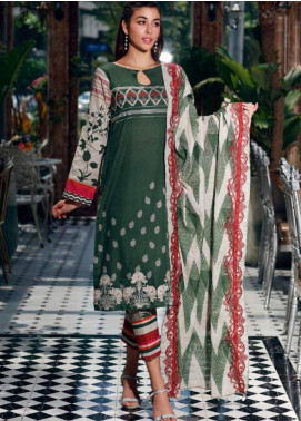 Charizma Embroidered Khaddar Unstitched 3 Piece Suit CRZ19-K2 13 - Luxury Collection