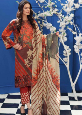 Charizma Embroidered Khaddar Unstitched 3 Piece Suit CRZ19-K2 17 - Luxury Collection