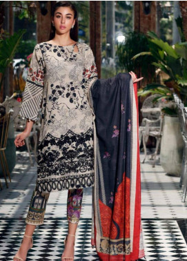 Charizma Embroidered Khaddar Unstitched 3 Piece Suit CRZ19-K2 18 - Luxury Collection
