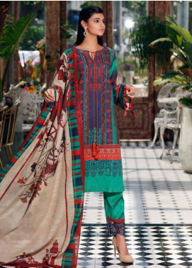 Charizma Embroidered Khaddar Unstitched 3 Piece Suit CRZ19-K2 19 - Luxury Collection