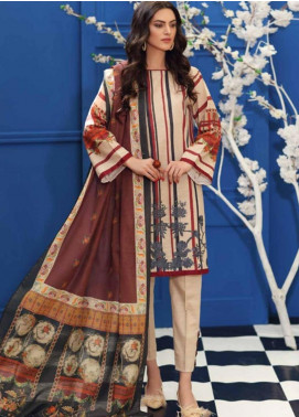 Charizma Embroidered Khaddar Unstitched 3 Piece Suit CRZ19-K2 21 - Luxury Collection