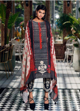 Charizma Embroidered Khaddar Unstitched 3 Piece Suit CRZ19-K2 22 - Luxury Collection