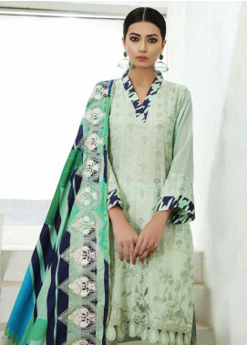 Charizma Embroidered Lawn Unstitched 3 Piece Suit CRZ20-N2 50 - Summer Collection