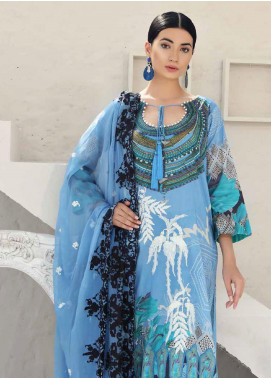 Charizma Embroidered Lawn Unstitched 3 Piece Suit CRZ20-N2 52 - Summer Collection