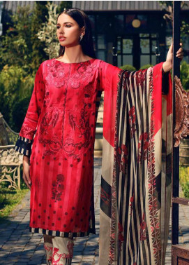Charizma Embroidered Lawn Unstitched 3 Piece Suit CRZ20-N2 53 - Summer Collection