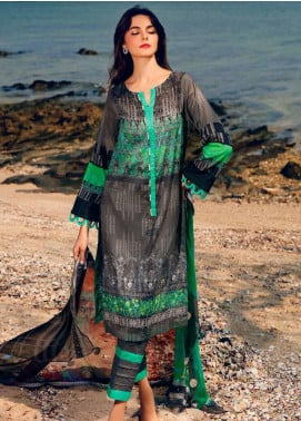 Charizma Embroidered Lawn Unstitched 3 Piece Suit CRZ20-N2 54 - Summer Collection