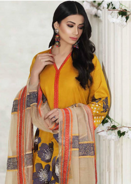 Charizma Embroidered Lawn Unstitched 3 Piece Suit CRZ20-N2 55 - Summer Collection