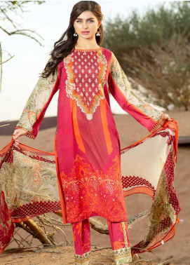 Charizma Embroidered Lawn Unstitched 3 Piece Suit CRZ20-N2 56 - Summer Collection