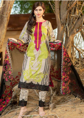 Charizma Embroidered Lawn Unstitched 3 Piece Suit CRZ20-N2 60 - Summer Collection