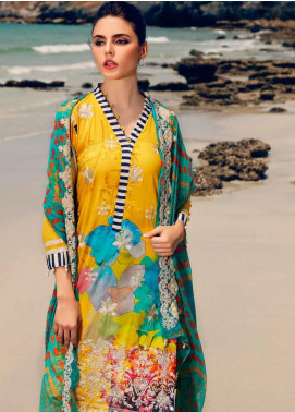 Charizma Embroidered Lawn Unstitched 3 Piece Suit CRZ20-N2 61 - Summer Collection