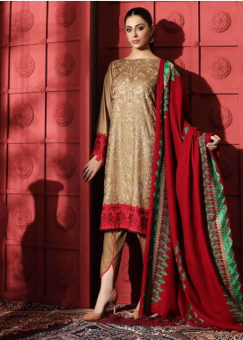 Naranji by Charizma Embroidered Marina Unstitched 3 Piece Suit CRZ20NL 06 Colour Binge - Winter Collection