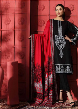 Naranji by Charizma Embroidered Leather Unstitched 3 Piece Suit CRZ20NL 07 Ophelia - Winter Collection