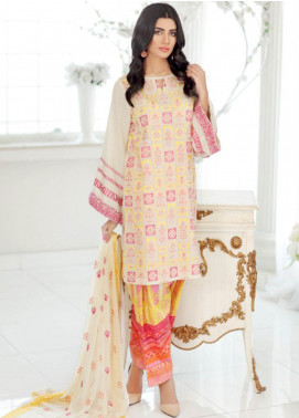 Charizma Embroidered Lawn Unstitched 3 Piece Suit CRZ20SK 19 - Summer Collection