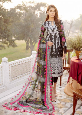 Charizma Embroidered Schiffli Unstitched 3 Piece Suit CRZ20LS 1 - Spring / Summer Collection