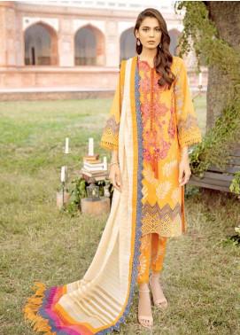 Charizma Embroidered Schiffli Unstitched 3 Piece Suit CRZ20LS 6 - Spring / Summer Collection