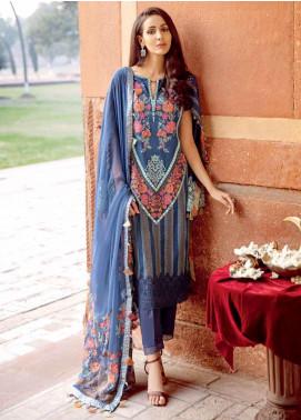 Charizma Embroidered Schiffli Unstitched 3 Piece Suit CRZ20LS 8 - Spring / Summer Collection