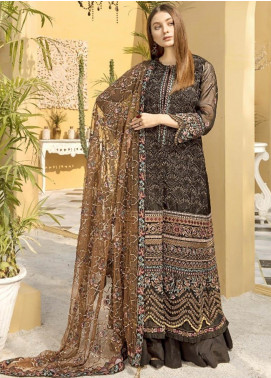 Charizma Embroidered Organza Unstitched 3 Piece Suit CRZ20ML 06 - Luxury Collection