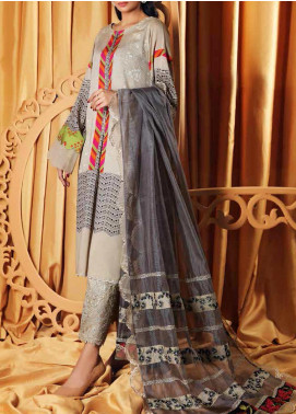 Charizma Embroidered Viscose Unstitched 3 Piece Suit CRZ20VS 04 - Winter Collection