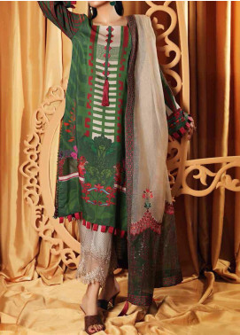 Charizma Embroidered Viscose Unstitched 3 Piece Suit CRZ20VS 05 - Winter Collection